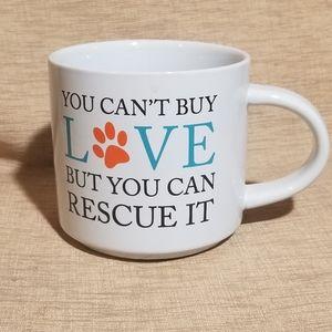 Other - Rescue dog lover mug